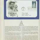 1983 USA FDC Scott# 2046 – Jul 6 – Honoring Babe Ruth on Cachet Addressed Cover E4859P