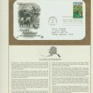 1984 USA FDC Scott# 2066 – Jan 3 – Alaska Statehood on Cachet Addressed Cover E4859P