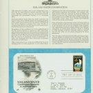 1984 USA FDC Sc# 2074 – Feb 6 – Soil and Water Conservation on Cachet Addressed Cover E4859P