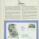 1984 USA FDC Scott# 2080 – Mar 12 – Hawaii Statehood on Cachet Addressed Cover E4859P