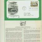 1984 USA FDC Scott# 2086 – May 11 – Louisiana World Exposition on Cachet Addressed Cover E4859P