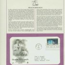 1984 USA FDC Scott# 2087 – May 17 – Tribute to Health Research on Cachet Addressed Cover E4859P