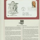 1984 USA FDC Sc# 2088 – May 23 – Honoring Douglas Fairbanks on Cachet Addressed Cover E4859P