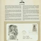 1984 USA FDC Sc# 2089 – May 24 – All-Around Athlete Jim Thorpe on Cachet Addressed Cover E4859P