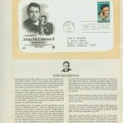 1984 USA FDC Scott# 2090 – Jun 6 – Tribute to John McCormack on Cachet Addressed Cover E4859P