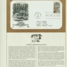 1984 USA FDC Sc# 2096 – Aug 13 Forest Fire Prevention, Smokey Bear Cachet Addressed Cover E4859P