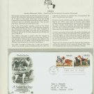 1984 USA FDC Scott# 2100-1 – Sep 7 – A Salute to Dogs on Cachet Addressed Cover E4859P