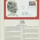 1984 USA FDC Scott# 2103 – Oct 31 – Hispanic Americans on Cachet Addressed Cover E4859P