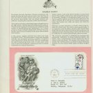1984 USA FDC Scott# 2104 – Oct 1 – In Support of Family Unity on Cachet Addressed Cover E4859P