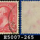 1895 USA USED Scott# 265 – 2c Washington Type I - 1895 Bureau Issues