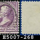 1895 USA USED Scott# 268 – 3c Jackson - 1895 Bureau Issues