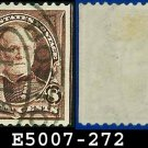 1895 USA USED Scott# 272 – 8c Sherman - 1895 Bureau Issues