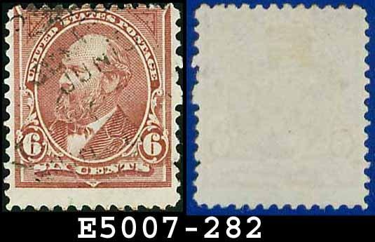 1898 USA USED Scott# 282 � 6c Garfield - 1898 Regular Issue