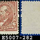 1898 USA USED Scott# 282 – 6c Garfield - 1898 Regular Issue