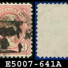 1926-28 USA USED Scott# 641 - 9c Jefferson - 1926-28 Regular Issue