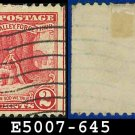1928 USA USED Scott# 645 - 2c Washington at Prayer - 1928 Commemoratives