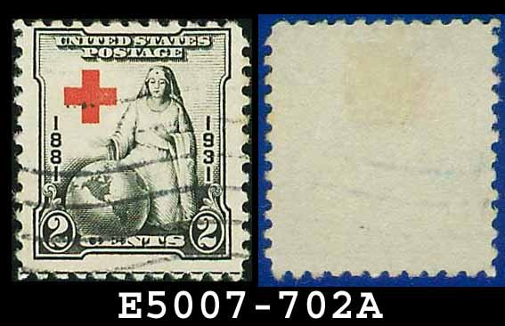 1930-31 USA USED Scott# 702 � 2c Red Cross � 1930-31 Commemoratives