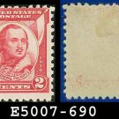 1930-31 USA UNUSED Scott# 690 – 2c Pulaski – 1930-31 Commemoratives