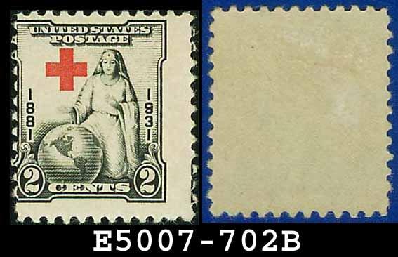 1930-31 USA UNUSED Scott# 702 � 2c Red Cross � 1930-31 Commemoratives