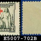 1930-31 USA UNUSED Scott# 702 – 2c Red Cross – 1930-31 Commemoratives