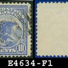 1911 USA USED F1 – 10c Blue Eagle Registration Stamp