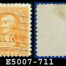 1932 USA USED Scott# 711 – 6c Washington – 1932 Washington Bicentennial Issue