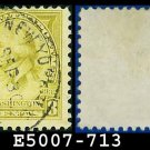 1932 USA USED Scott# 713 – 8c Washington – 1932 Washington Bicentennial Issue