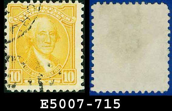 1932 USA USED Scott# 715 � 10c Washington � 1932 Washington Bicentennial Issue