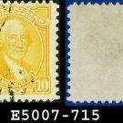 1932 USA USED Scott# 715 – 10c Washington – 1932 Washington Bicentennial Issue