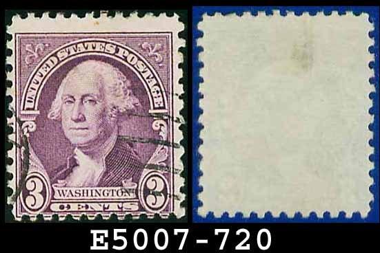 1932 USA USED Scott# 720 � 3c Washington � 1932 Regular Issue