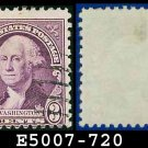 1932 USA USED Scott# 720 – 3c Washington – 1932 Regular Issue