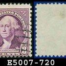 1932 USA USED Scott# 720 – 3c Washington – 1932 Regular Issue