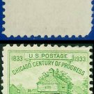 1933 USA USED Scott# 728 – 1c Fort Dearborn – 1933 Commemoratives
