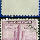 1933 USA USED Scott# 729 – 3c Chicago Federal Building – 1933 Commemoratives