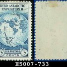 1933 USA USED Scott# 733 – 3c Byrd Expedition – 1933 Commemoratives