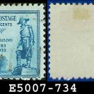 1933 USA USED Scott# 734 – 5c General Kosciuszko – 1933 Commemoratives