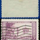1934 USA USED Scott# 739 – 3c Nicolet's Landing at Green Bay – 1934 Commemoratives