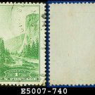 1934 USA USED Scott# 740 – 1c Yosemite California – 1934 National Parks Issue