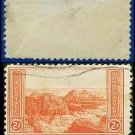 1934 USA USED Scott# 741 – 2c Grand Canyon – 1934 National Parks Issue