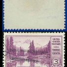 1934 USA USED Scott# 742 – 3c Mt. Rainier – 1934 National Parks Issue