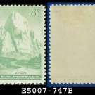 1934 USA UNUSED Scott# 747 – 8c Zion, Utah – 1934 National Parks Issue