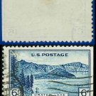 1934 USA USED Scott# 745 – 6c Crater Lake – 1934 National Parks Issue