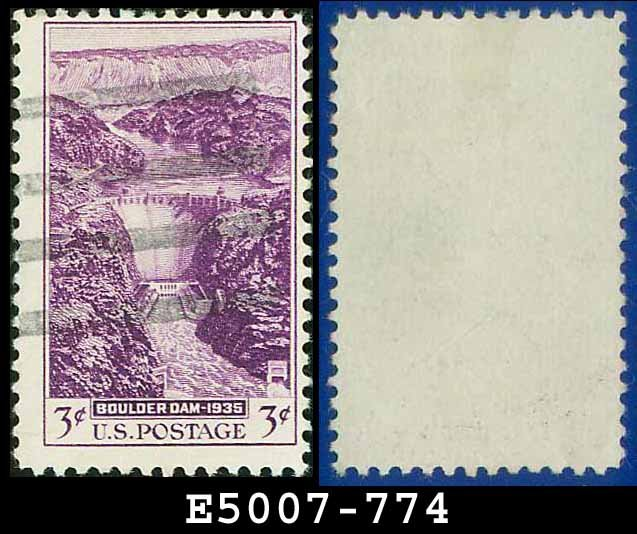 1935 USA USED Scott# 774 � 3c Boulder Dam � 1935 Commemoratives