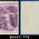 1935 USA USED Scott# 774 – 3c Boulder Dam – 1935 Commemoratives
