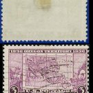 1936 USA USED Scott# 783 – 3c Map of Oregon Territory – 1936 Commemoratives