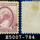 1936 USA USED Scott# 784 – 3c Susan B Anthony – 1936 Commemoratives