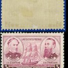 1936-37 USA UNUSED Scott# 792 – 3c Farragut & Porter – Army-Navy War Heroes Issue