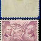 1937 USA UNUSED Scott# 795 – 3c Northwest Territory – 1937 Commemoratives