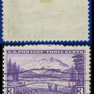 1937 USA USED Scott# 800 – 3c Mt. McKinley, Alaska – 1937 Commemoratives
