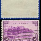 1937 USA USED Scott# 801 – 3c La Fortaleza – 1937 Commemoratives